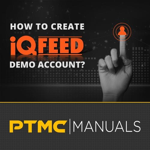 How to register and open demo account with IQFeed?