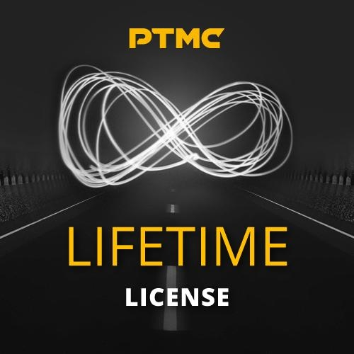 Lifetime license: pay once and use PTMC forever