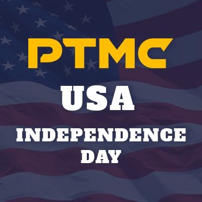 Get PTMC license 25% cheaper in honor of USA Independence Day!
