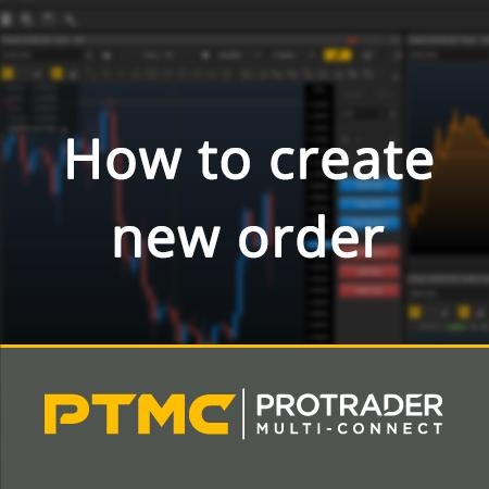 How to create a new trading order