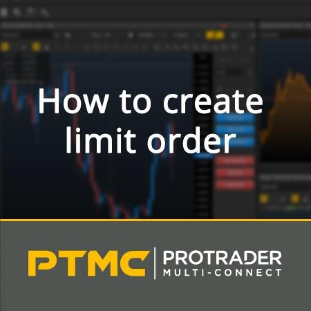 How to create a limit order