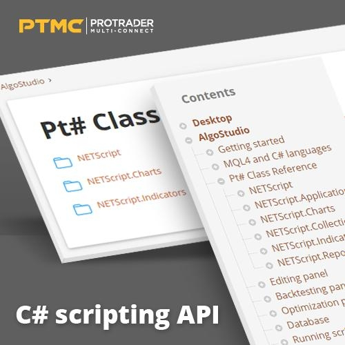 PTMC delivers C# scripting API for quantitative trading