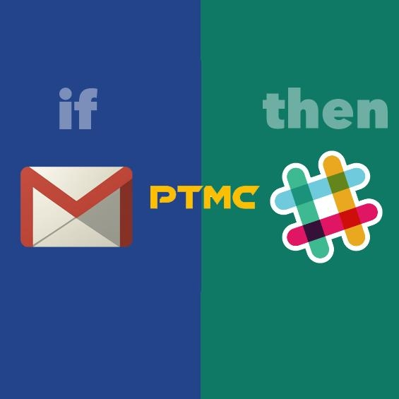 Send free PTMC notifications to your Slack channel via gmail