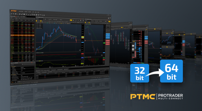 PTMC trading platform for 64-bit systems