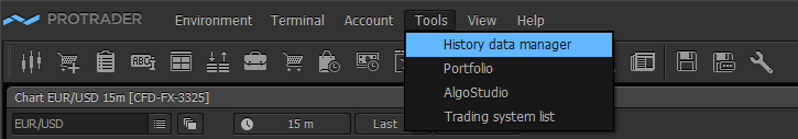 tools-history data manager