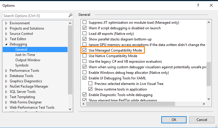 Quick way to debug a trading strategy with Visual Studio