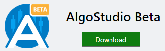 Download AlgoStudio Beta from Visual Studio Market
