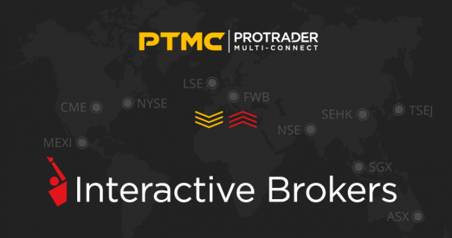 new PTMC trade connection with Interactive Brokers.