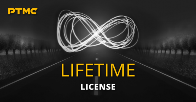 PTMC lifetime license