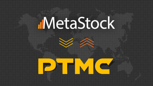 PTMC connected with MetaStock XENITH